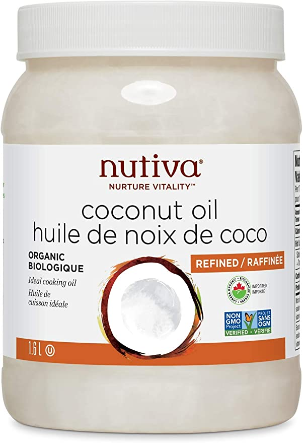 organic coconut oil used to make infused cannabis oil.