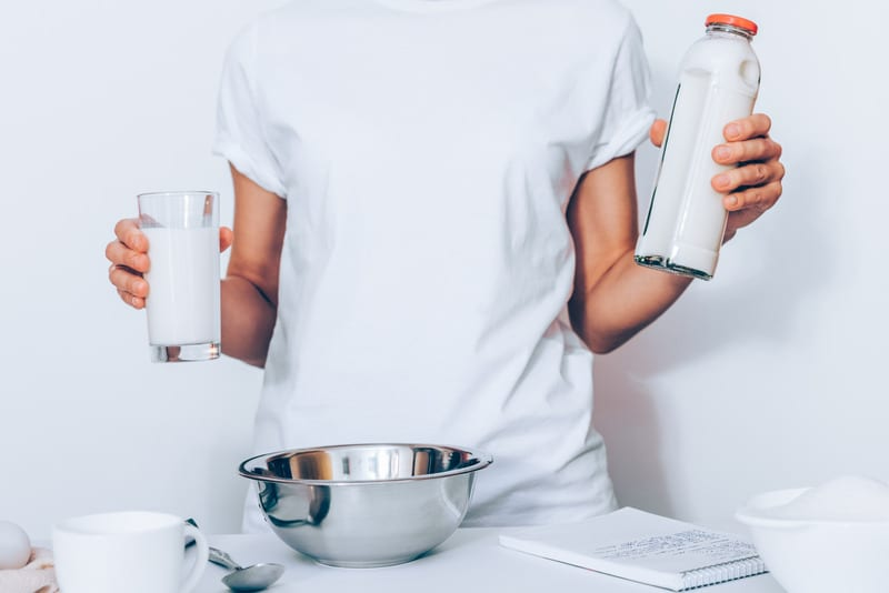 cannabis-infused milk