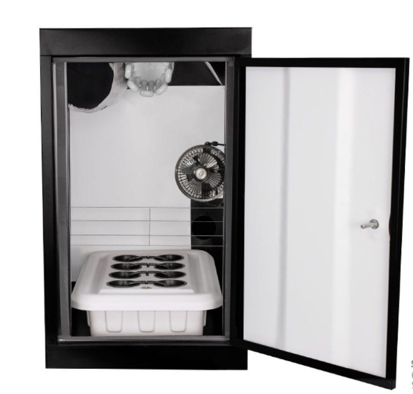 Supercloset grow cabinet