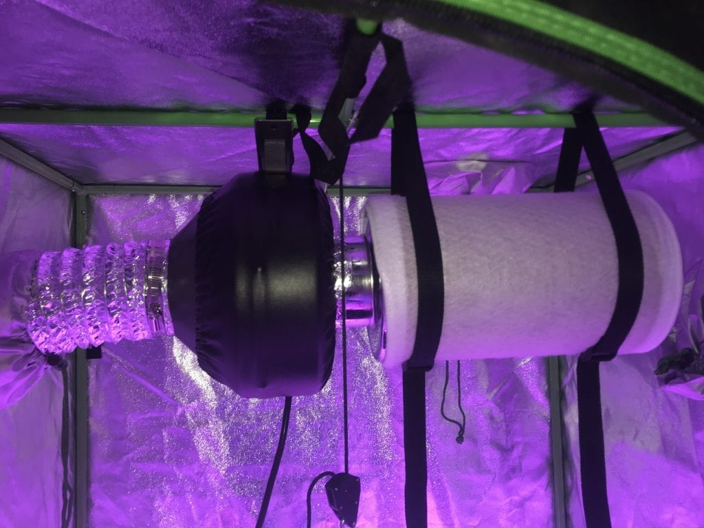 carbon air filtration kit for best indoor grow tent
