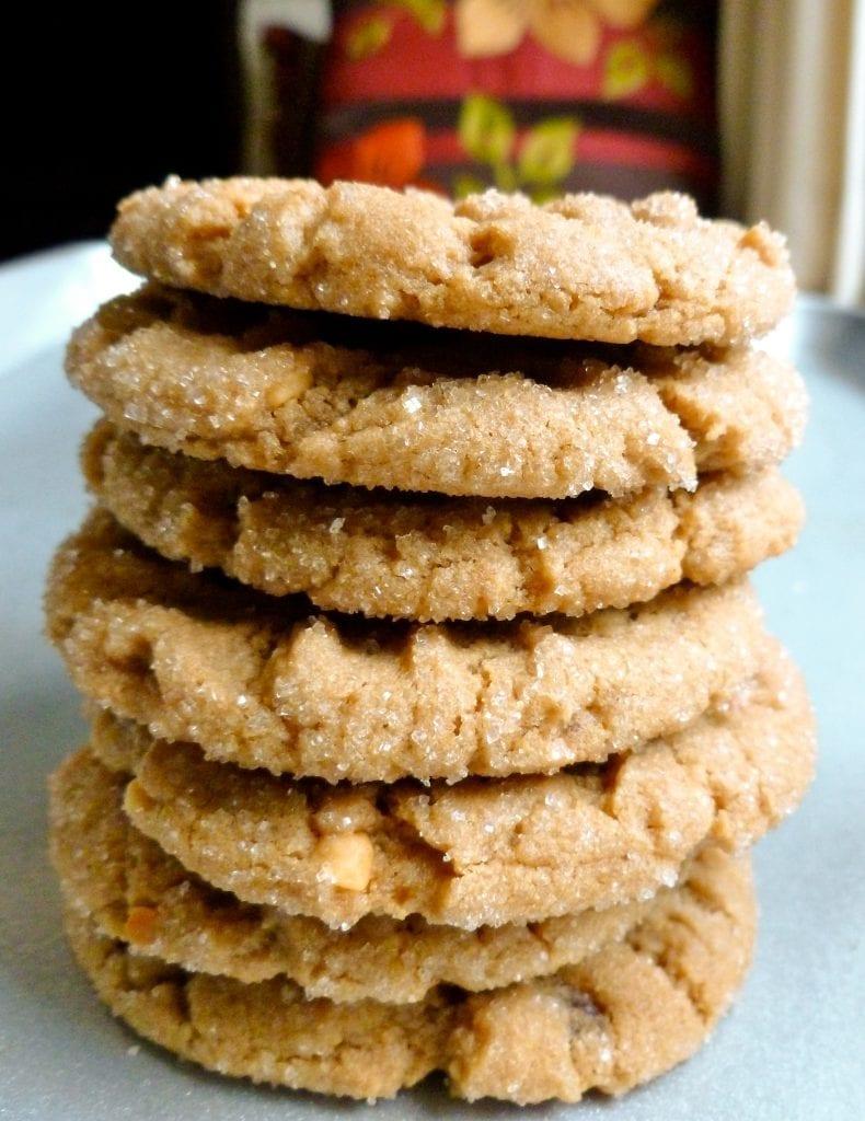 Vegan weed peanut butter cookies. Vegan edibles that look and taste delicious.