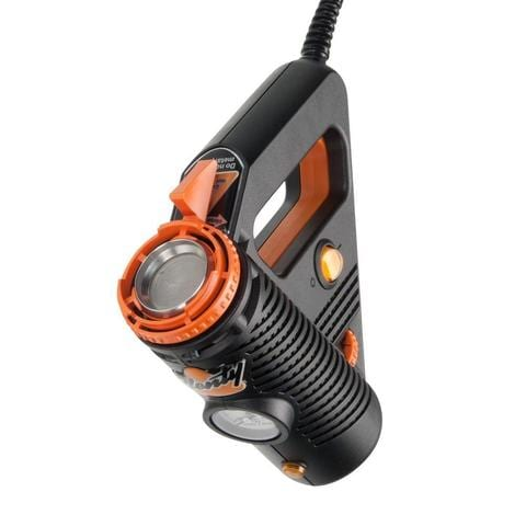 the orange and black vape has a great look.  One of best weed vaporizers in 2020