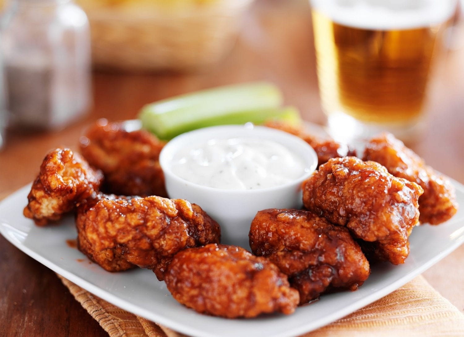 Weed Chicken Wings