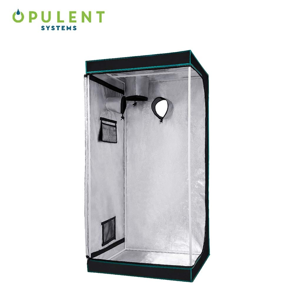 OPULENT SYSTEMS Hydroponic Mylar Water-Resister Grow Tent