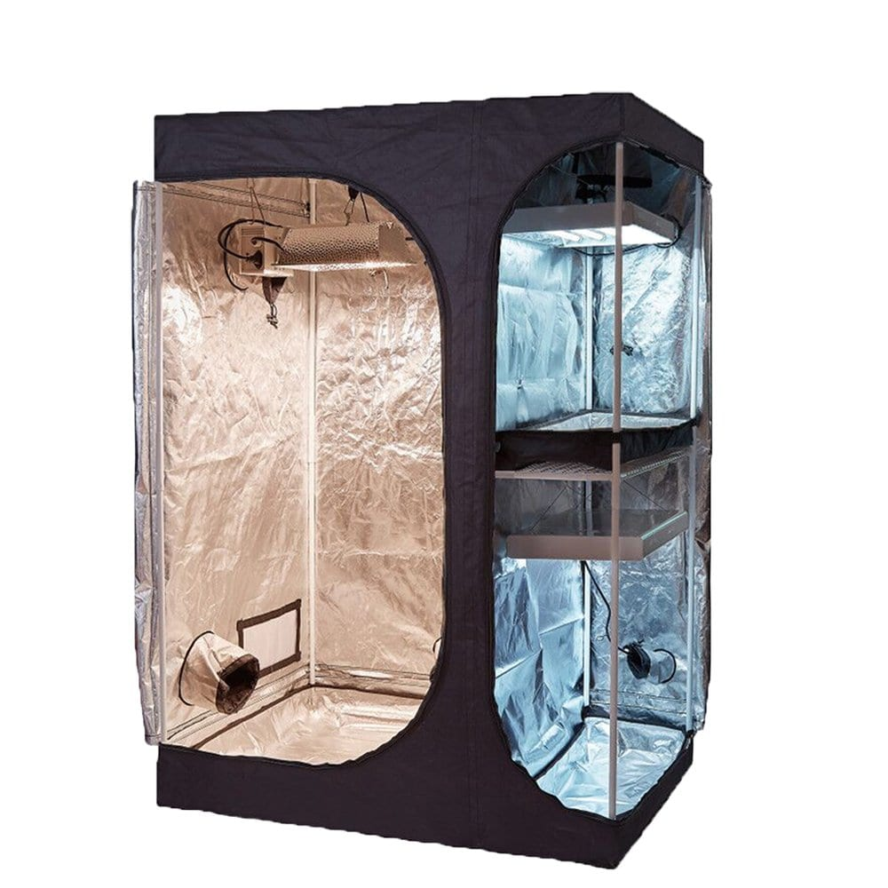 TopoGrow 2-in-1 Indoor Grow Tent
