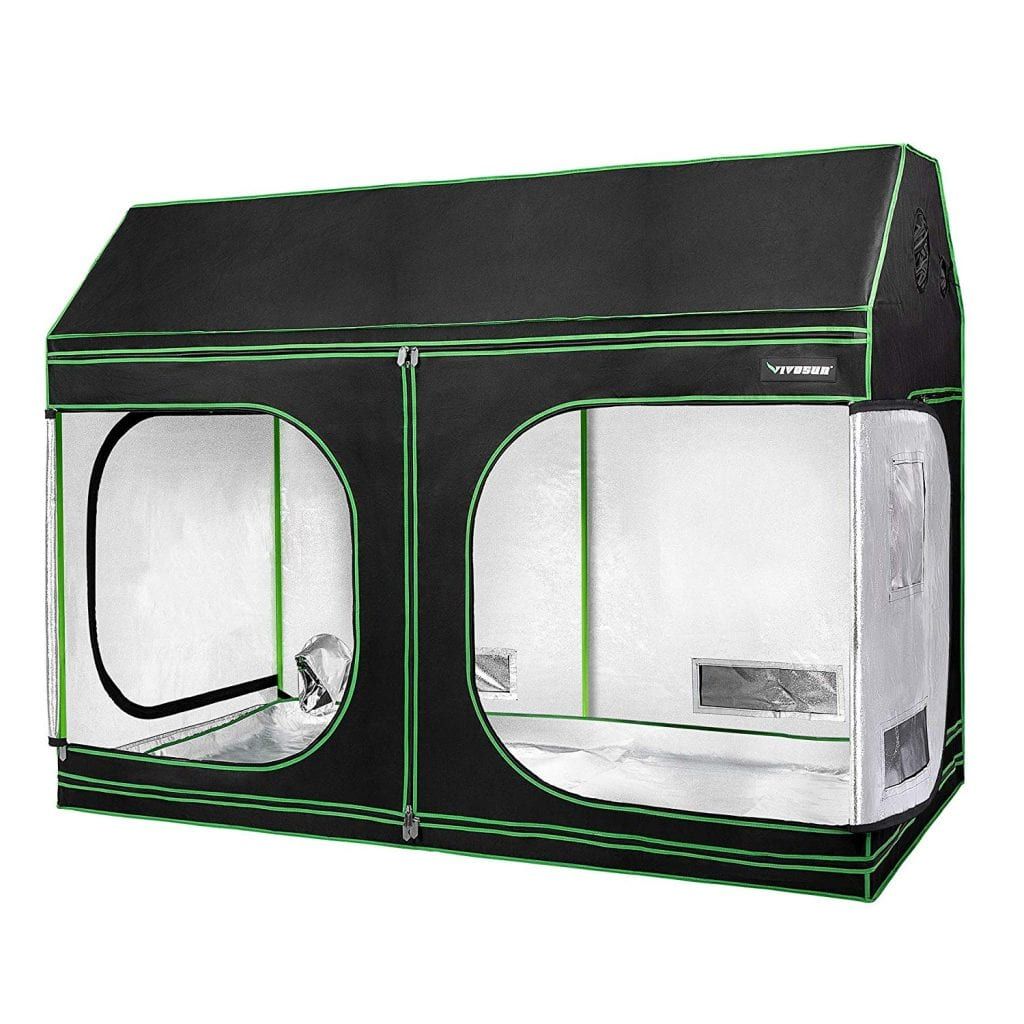 vivosun indoor grow roof cube tent. one of the top grow tents for large grow operations.