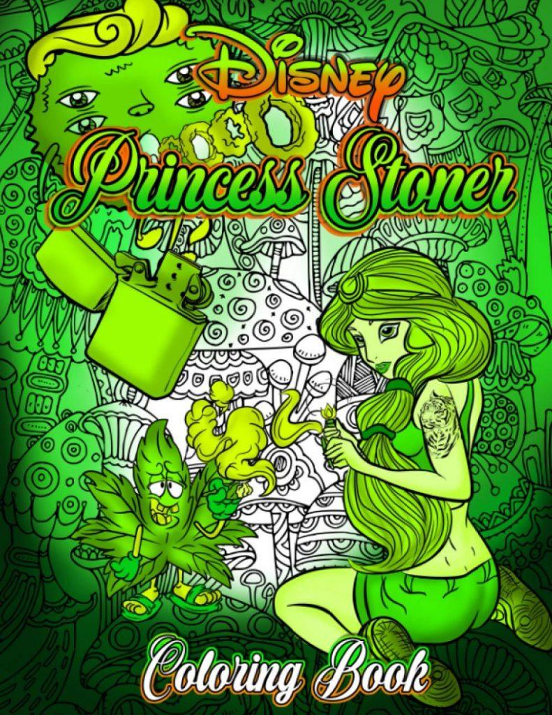 Disney Princess stoner coloring book.